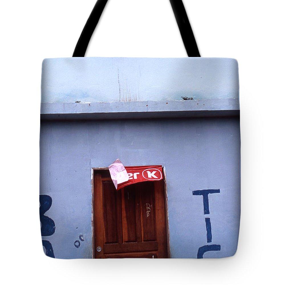 Lencois Tote Bag featuring the photograph Bar Tico by Patrick Klauss