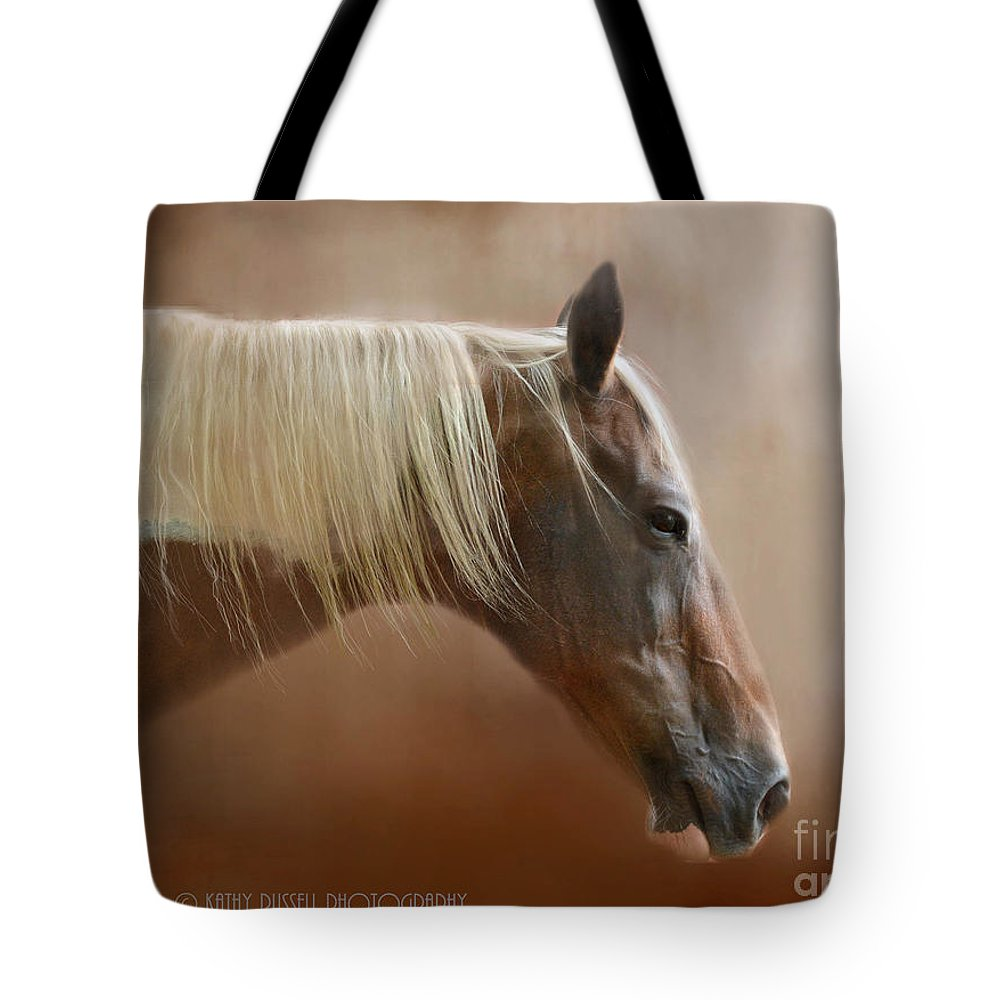 Paint Tote Bag featuring the photograph Barely Awake by Kathy Russell