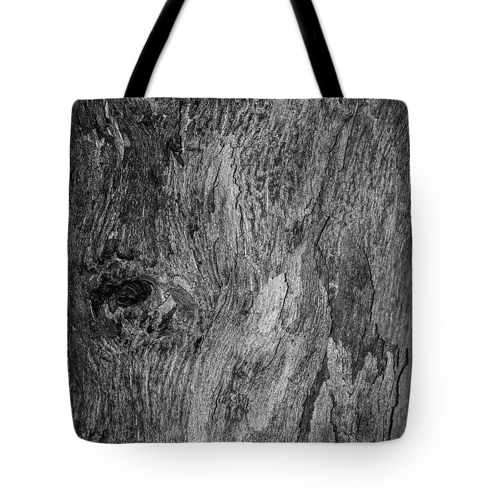 Bark Tote Bag featuring the photograph Bark At The Moon by Evil Shadows