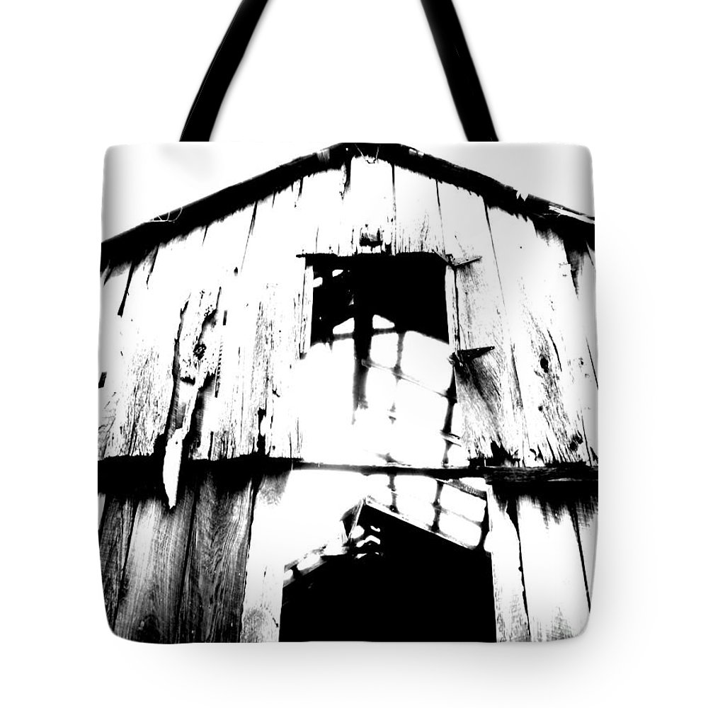Barn Tote Bag featuring the photograph Barn by Amanda Barcon