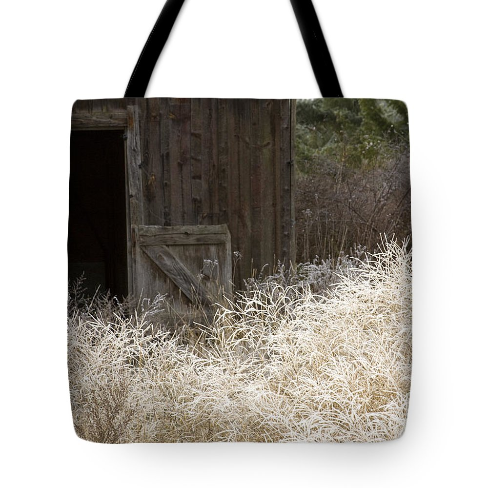 Barn Tote Bag featuring the photograph Barn Door by Idaho Scenic Images Linda Lantzy