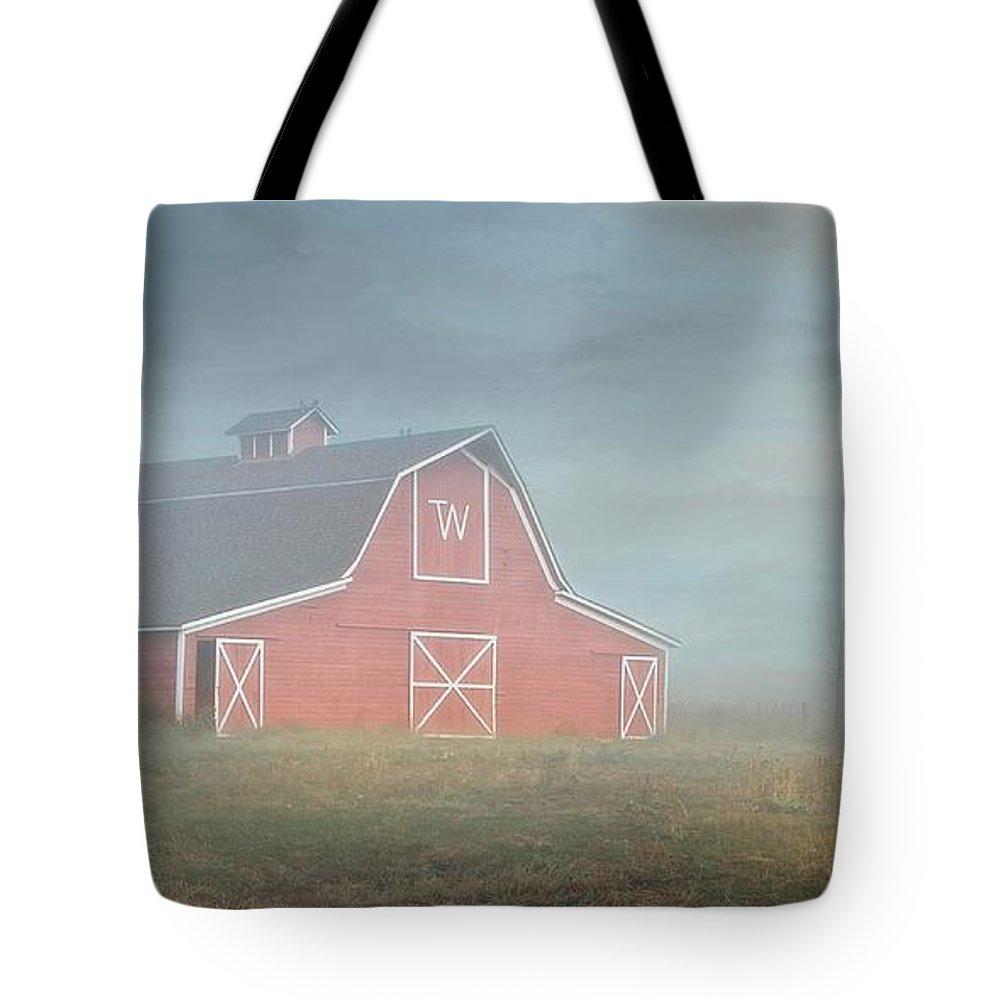 Barn Tote Bag featuring the photograph Barn, Longmont, Colorado by Zayne Diamond Photographic