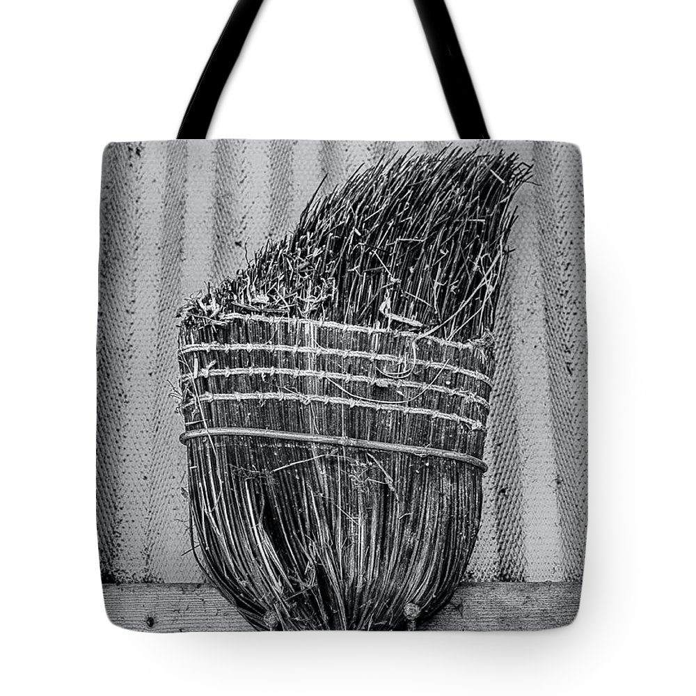 Barn Tote Bag featuring the photograph Barn Tools 3 by James Aiken