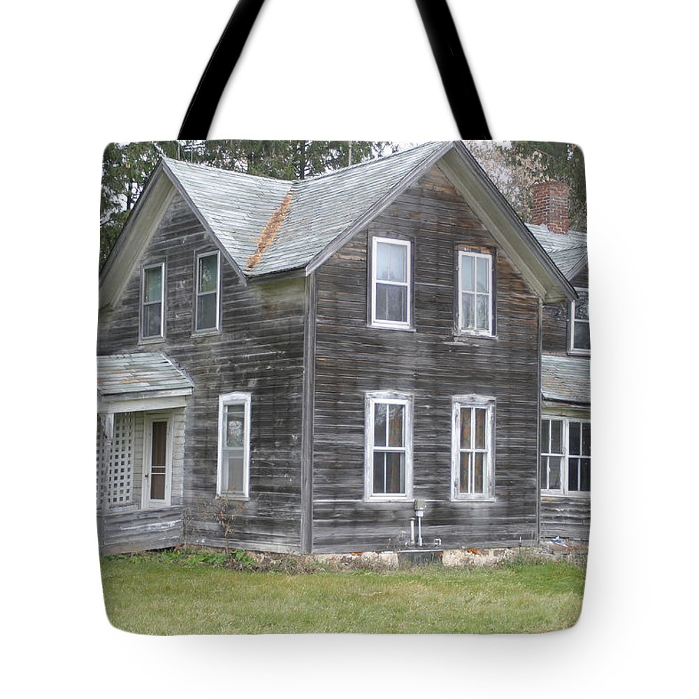 Barns Tote Bag featuring the photograph Barn Wood by Bjorn Sjogren