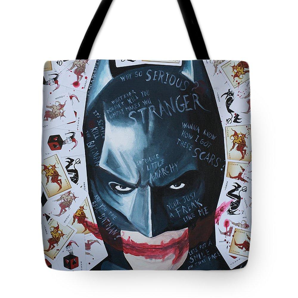 Batman Joker Cards Tote Bag