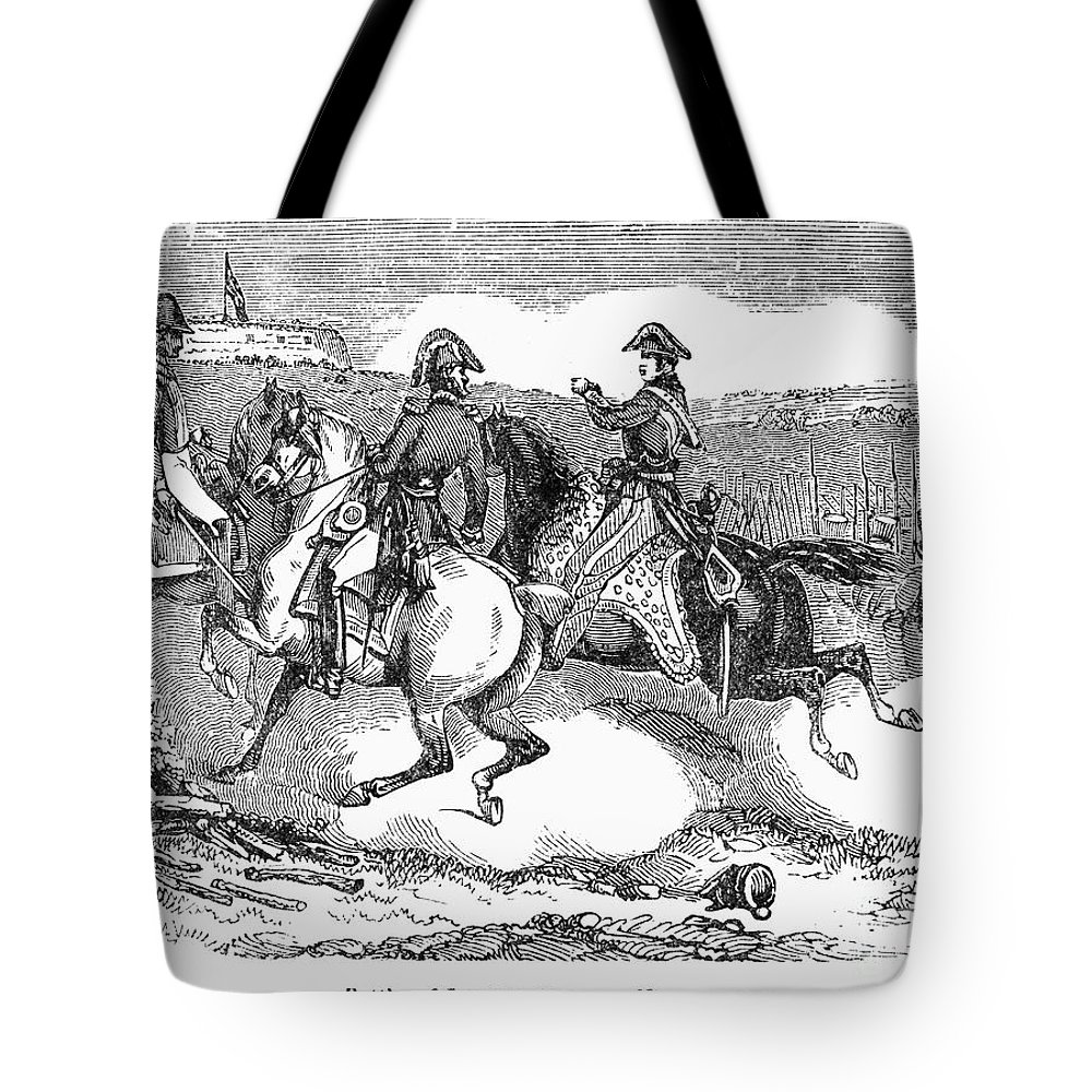 1814 Tote Bag featuring the photograph Battle Of Lundys Lane by Granger