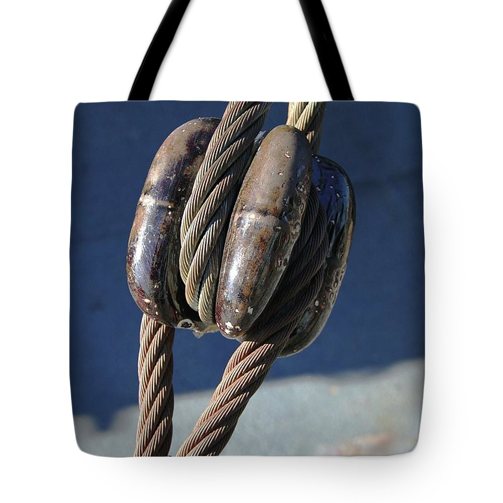 Tote Bag featuring the photograph Battleship Texas Image 2 by Russell Owens