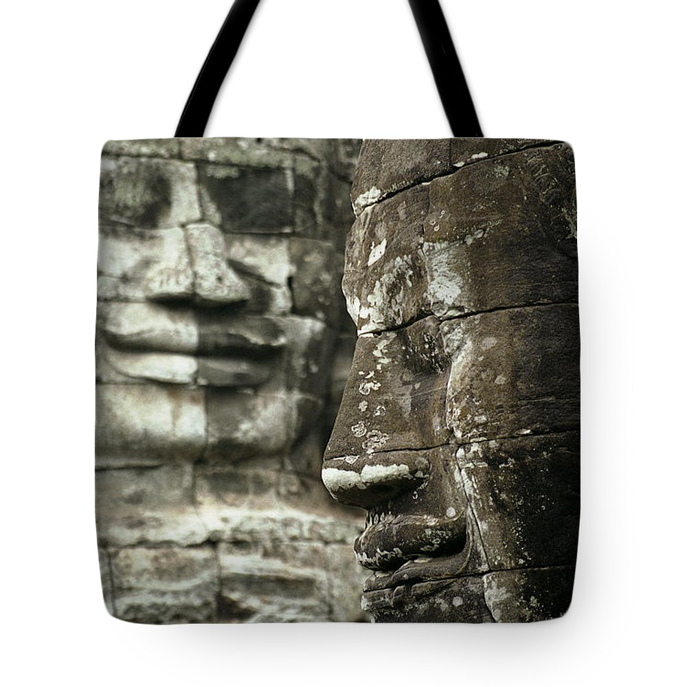 Bayon Tote Bag featuring the photograph Bayonii by Patrick Klauss