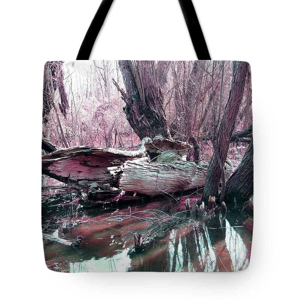 Bayou Tote Bag featuring the photograph Cypress At Rest by Gina Welch