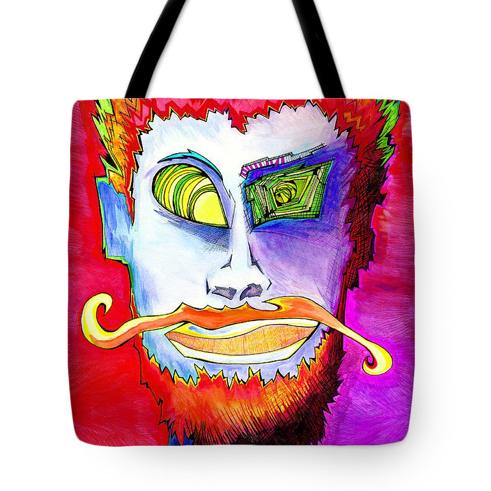Tote Bag featuring the drawing Bayou Scientist by LeBoeuf