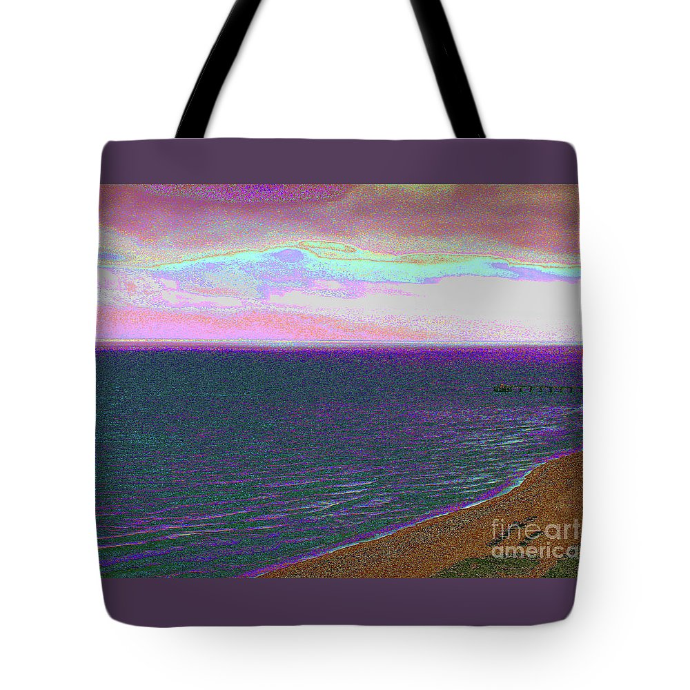 Alexa Show Me Cool Art Tote Bag featuring the photograph Beach 1002 by Corinne Carroll