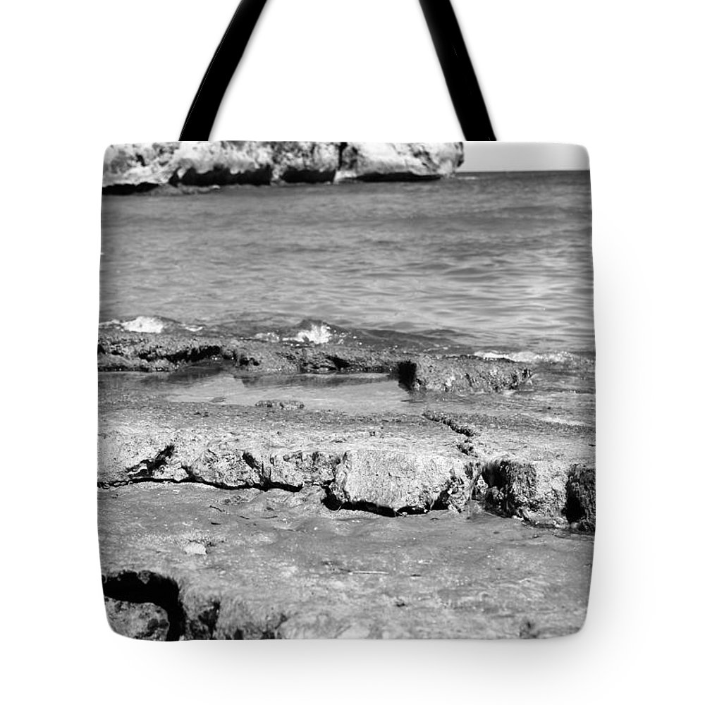 Beach Tote Bag featuring the photograph Beach At Dominican Republic by Robert Smith