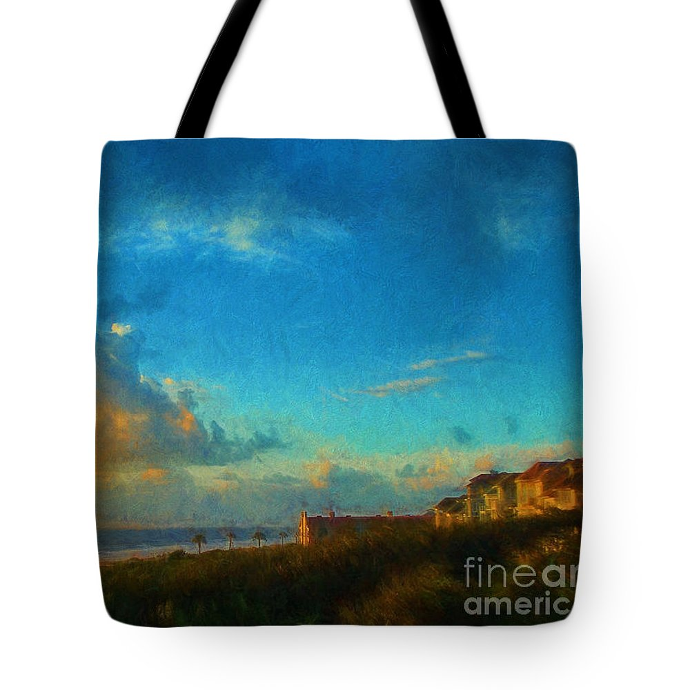 Art Prints Tote Bag featuring the photograph Beach Beauty by Dave Bosse