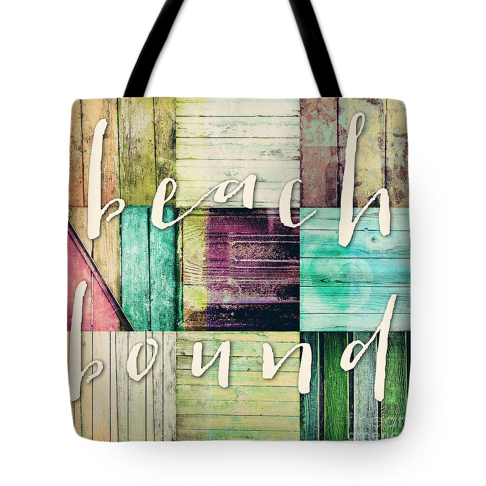 Beach Tote Bag featuring the painting Beach Bound by Mindy Sommers