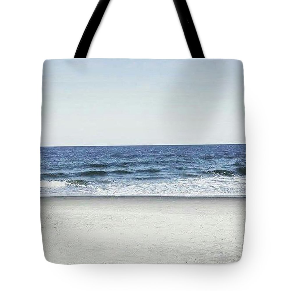 Water Tote Bag featuring the photograph Beach Day by Aly Robinson