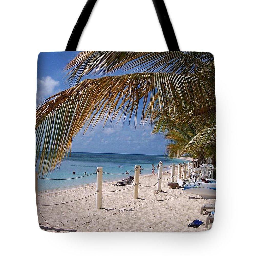 Beach Tote Bag featuring the photograph Beach Grand Turk by Debbi Granruth