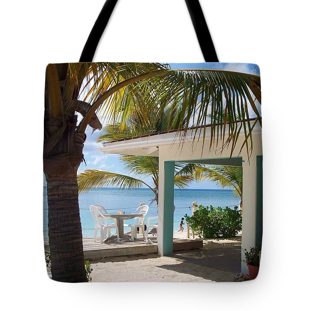 Beach Tote Bag featuring the photograph Beach In Grand Turk by Debbi Granruth