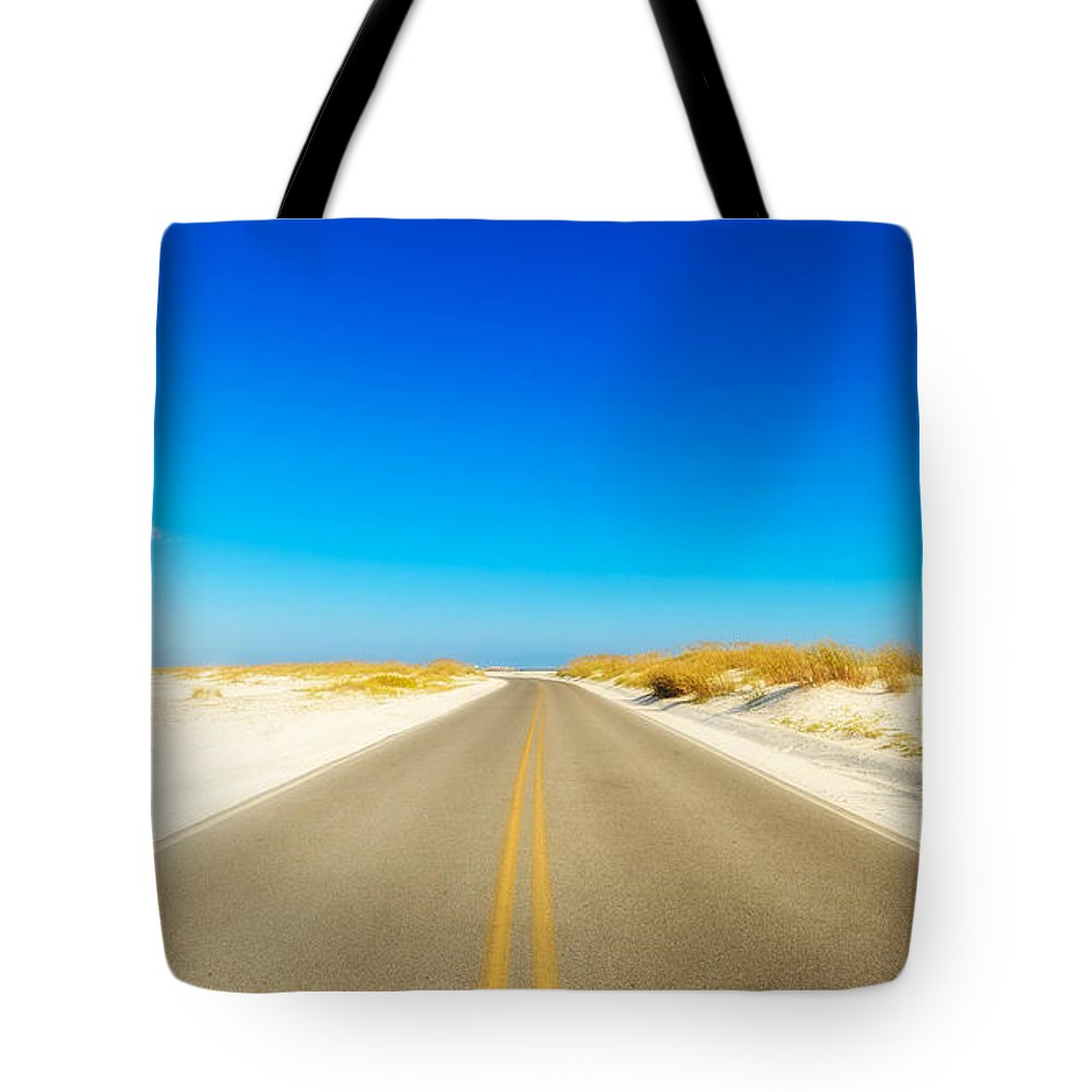 Florida Tote Bag featuring the photograph Beach Road by Raul Rodriguez