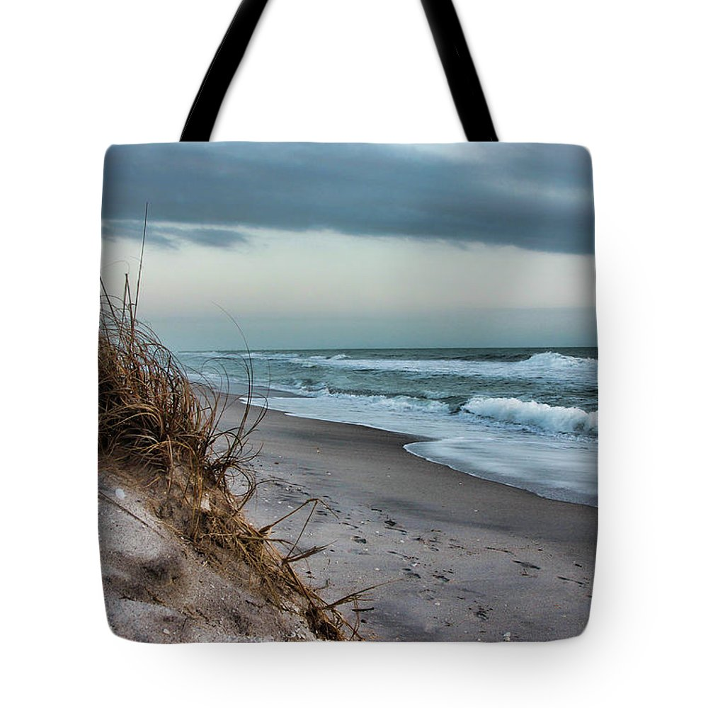 Beach Florida Art Tote Bag featuring the photograph Beach Surrender by Shari Jardina
