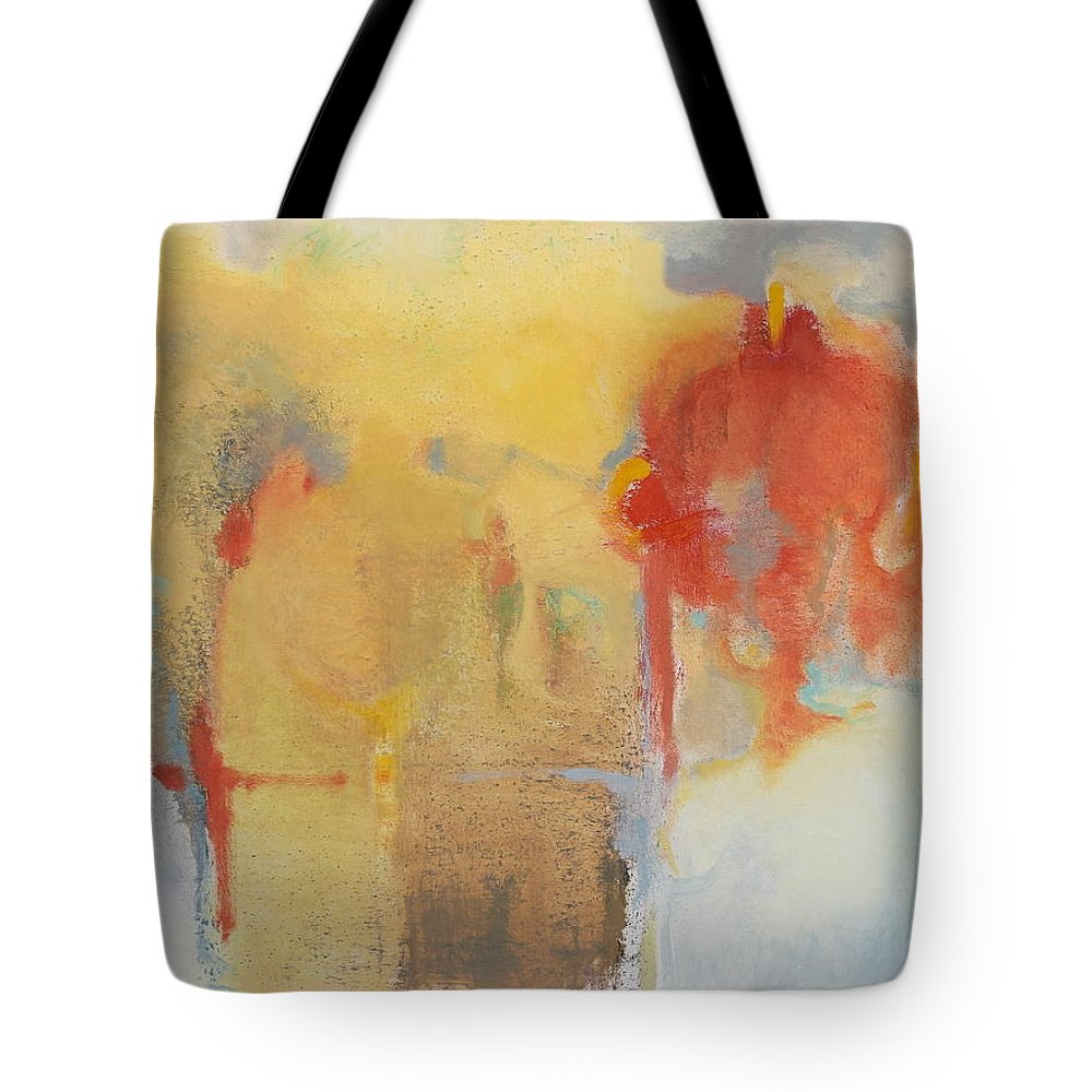 Tom Brooks Tote Bag featuring the painting Beacon by Tom Brooks