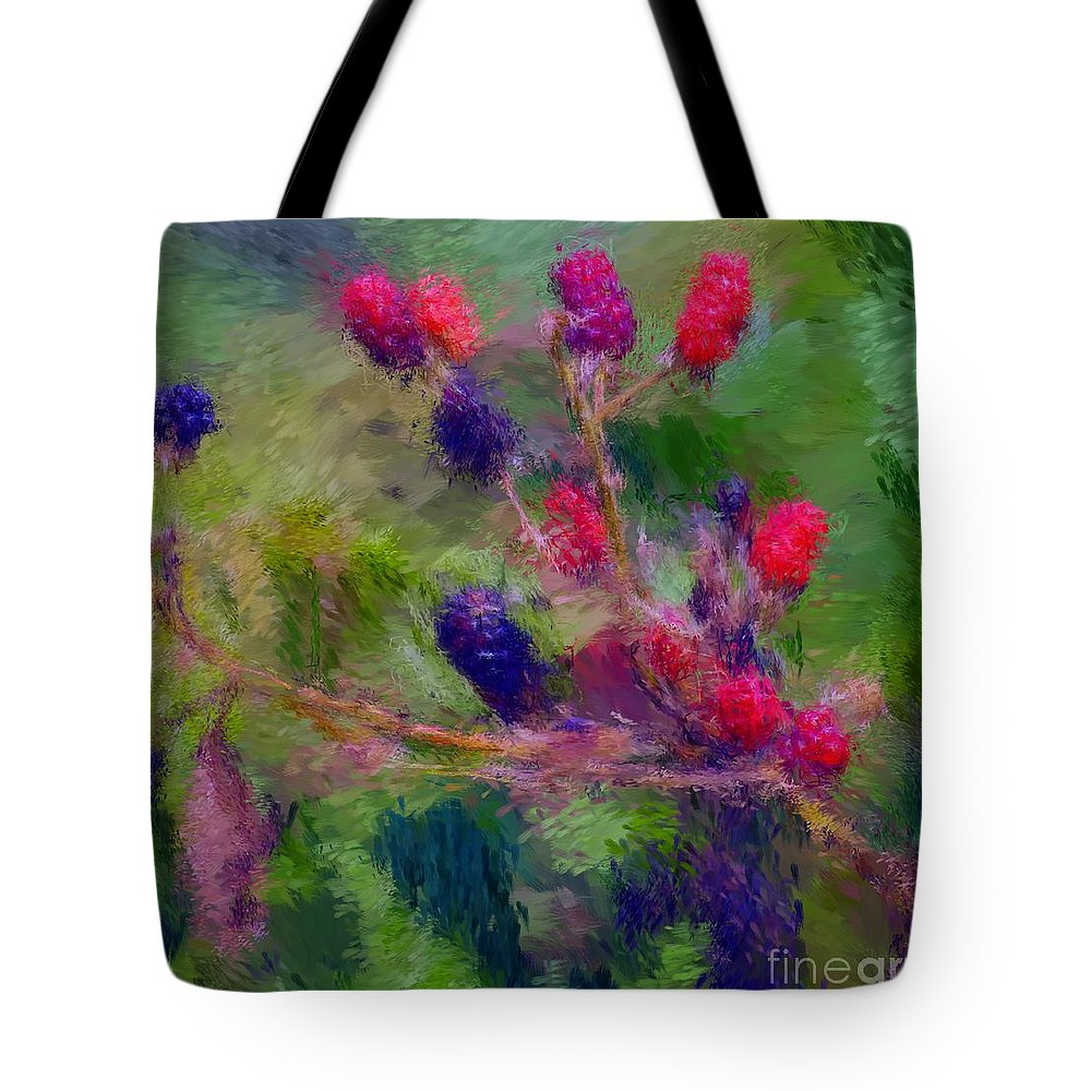 Nature Tote Bag featuring the photograph Bear Fodder by David Lane