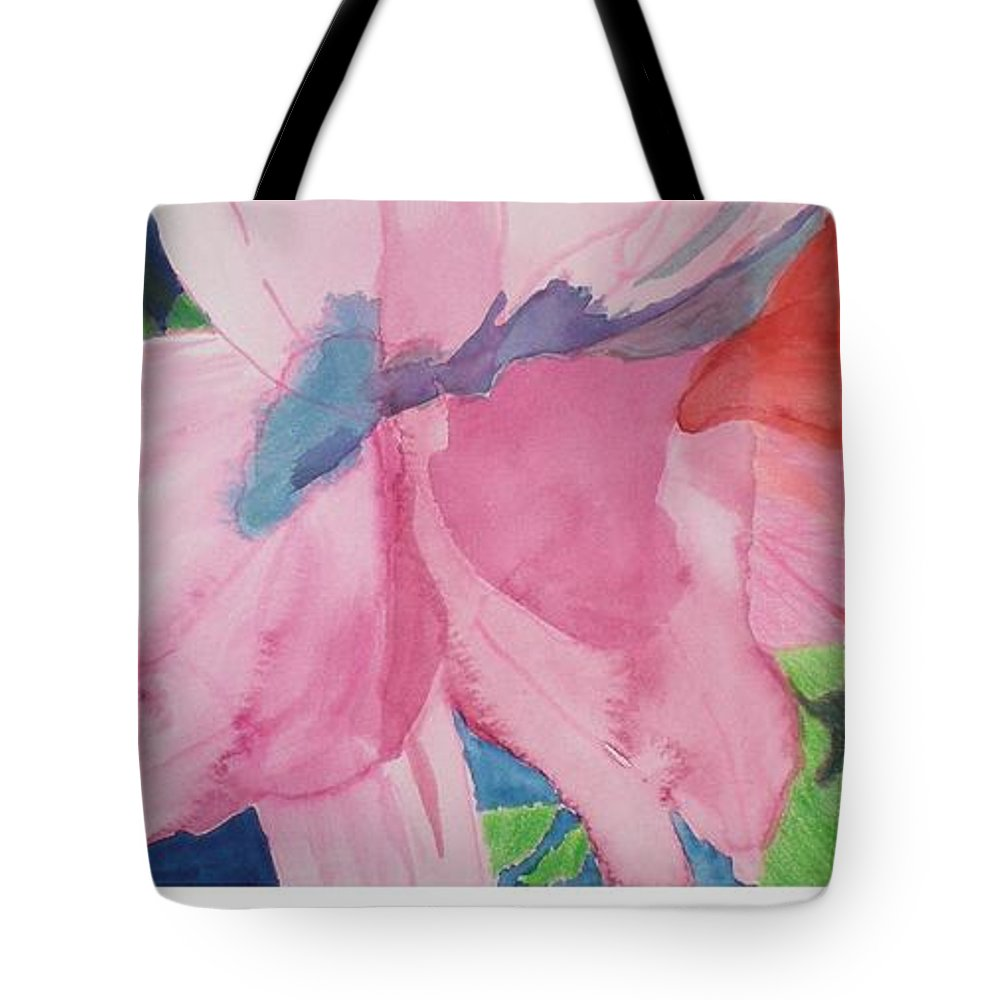 Flower Tote Bag featuring the painting Beautiful Azalea by Hal Newhouser