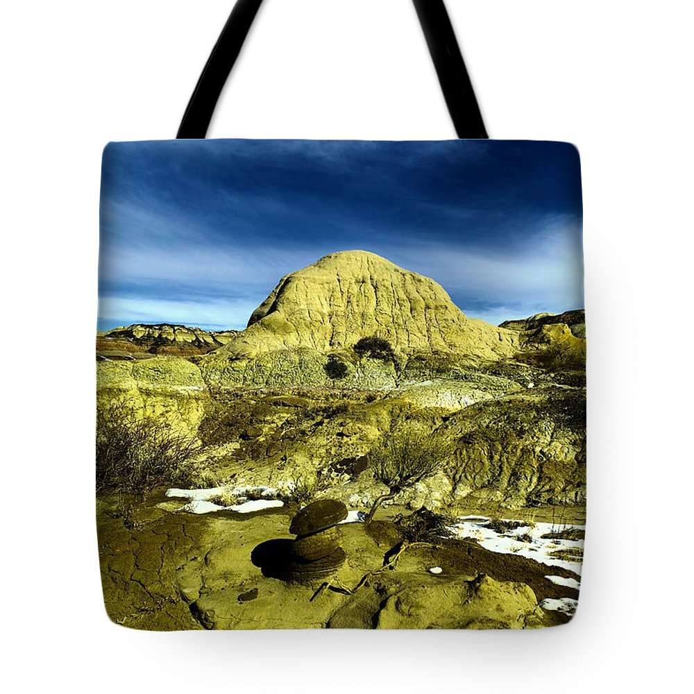 Landscape Tote Bag featuring the photograph Beautiful Bisti Wilderness by Jeff Swan