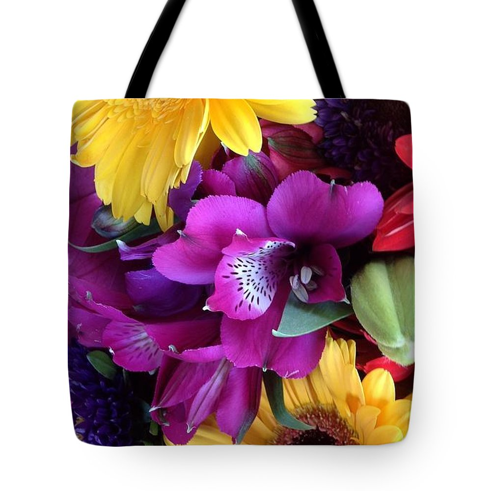 Beautiful Bouquet Tote Bag featuring the photograph Beautiful Bouquet by By Divine Light
