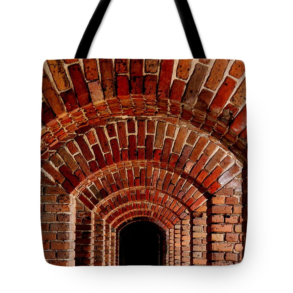 Beautiful Brick Tote Bag featuring the photograph Beautiful Brick by Ed Smith