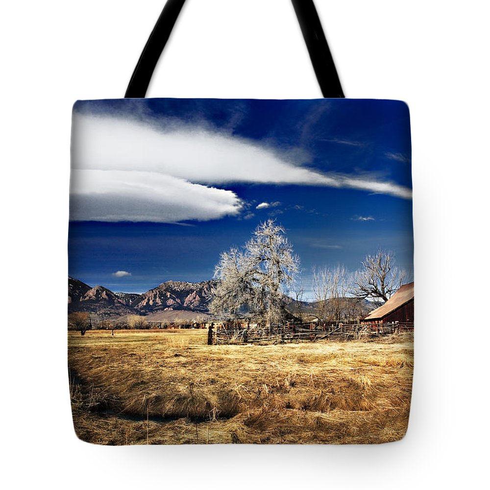 Colorado Tote Bag featuring the photograph Beautiful Colorado by Marilyn Hunt
