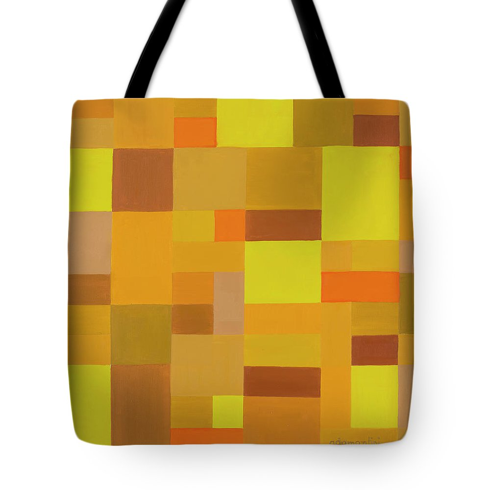 Beautiful Earth Tote Bag featuring the painting Beautiful Earth by Adamantini Feng shui