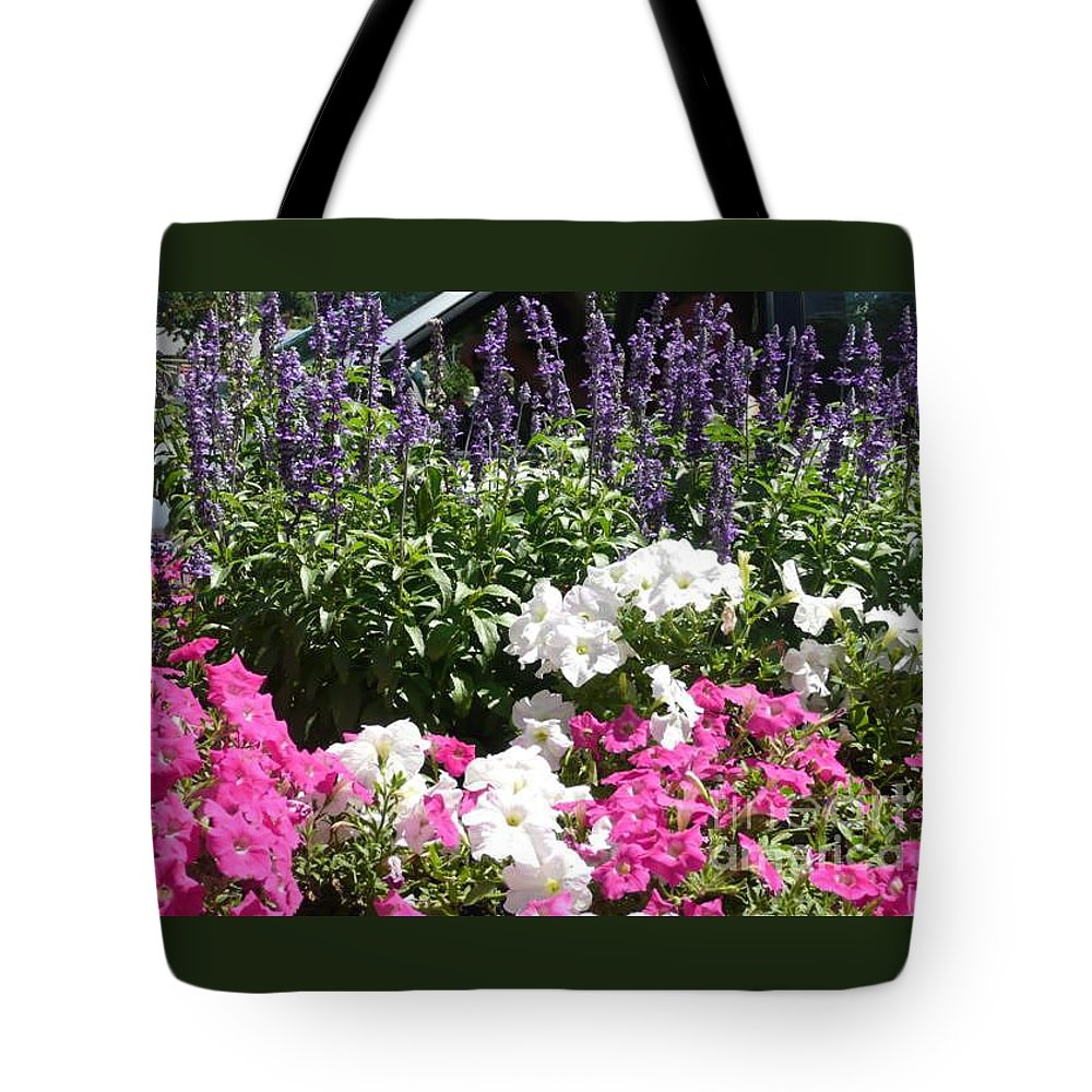 Flowers Tote Bag featuring the photograph Beautiful Flowers by Barb Montanye Meseroll