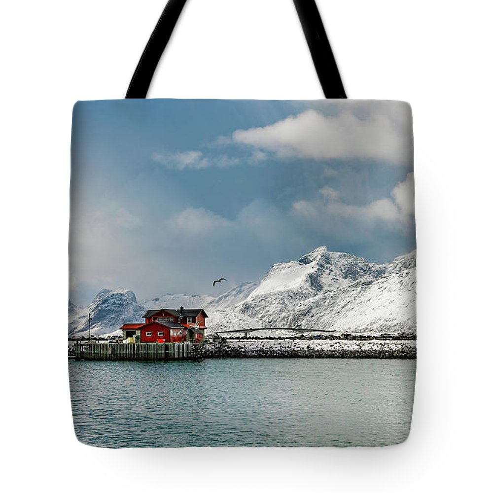 Tote Bag featuring the photograph Beautiful Morning In Ramberg by Adrian Salcu