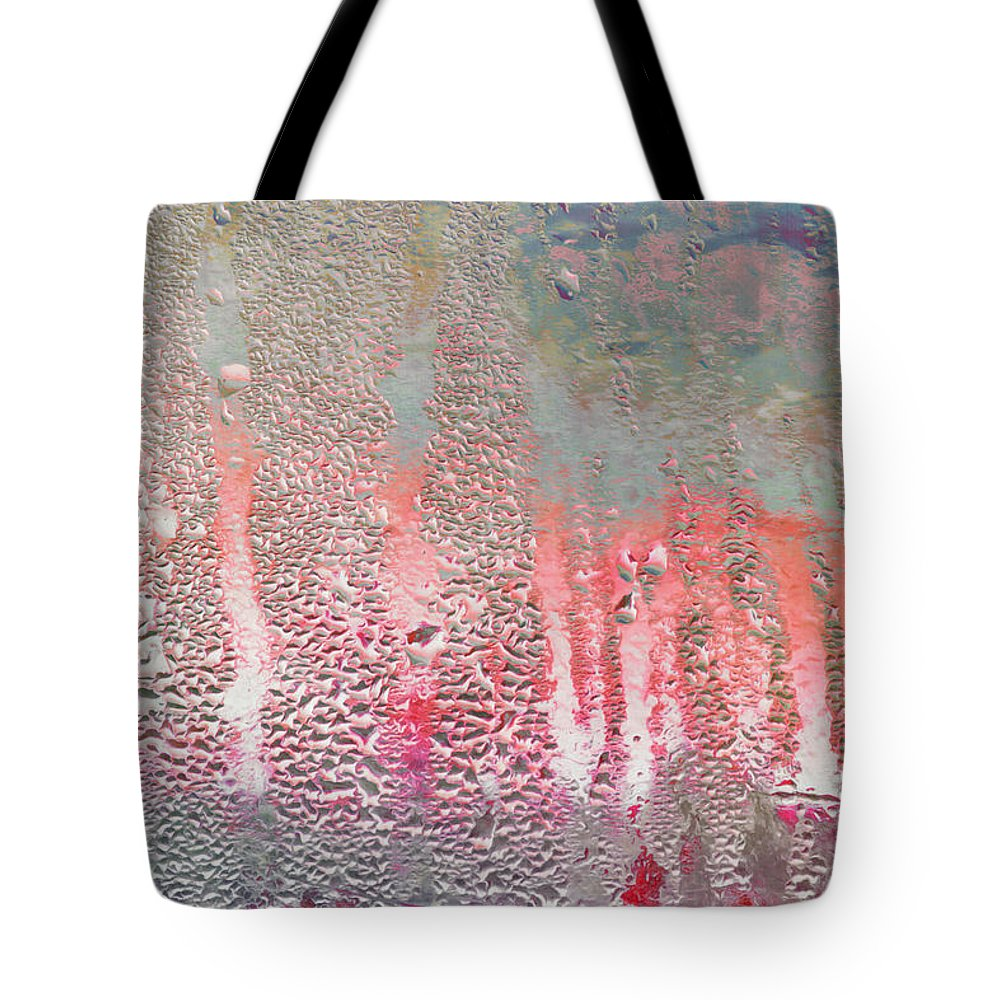 Window Pane Tote Bag featuring the photograph Beautiful Rainy Day by Hal Halli