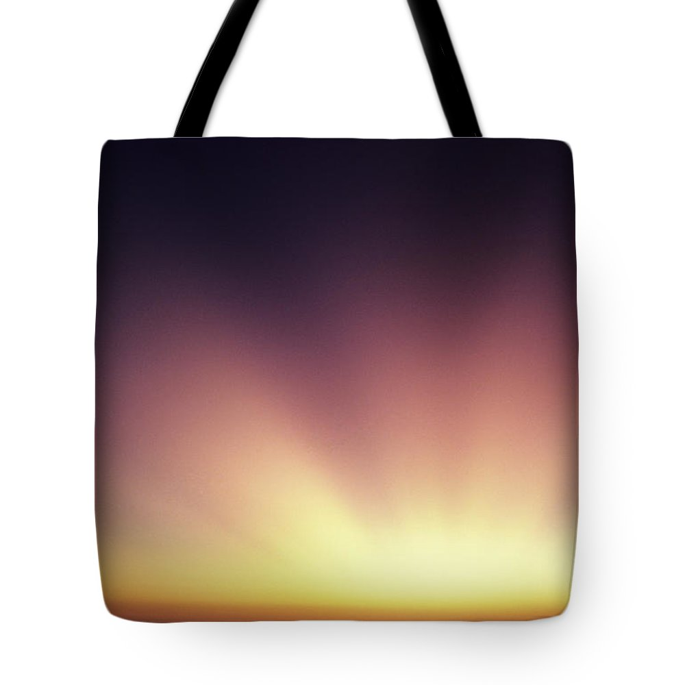 Air Art Tote Bag featuring the photograph Beautiful Sun Rays by Larry Dale Gordon - Printscapes