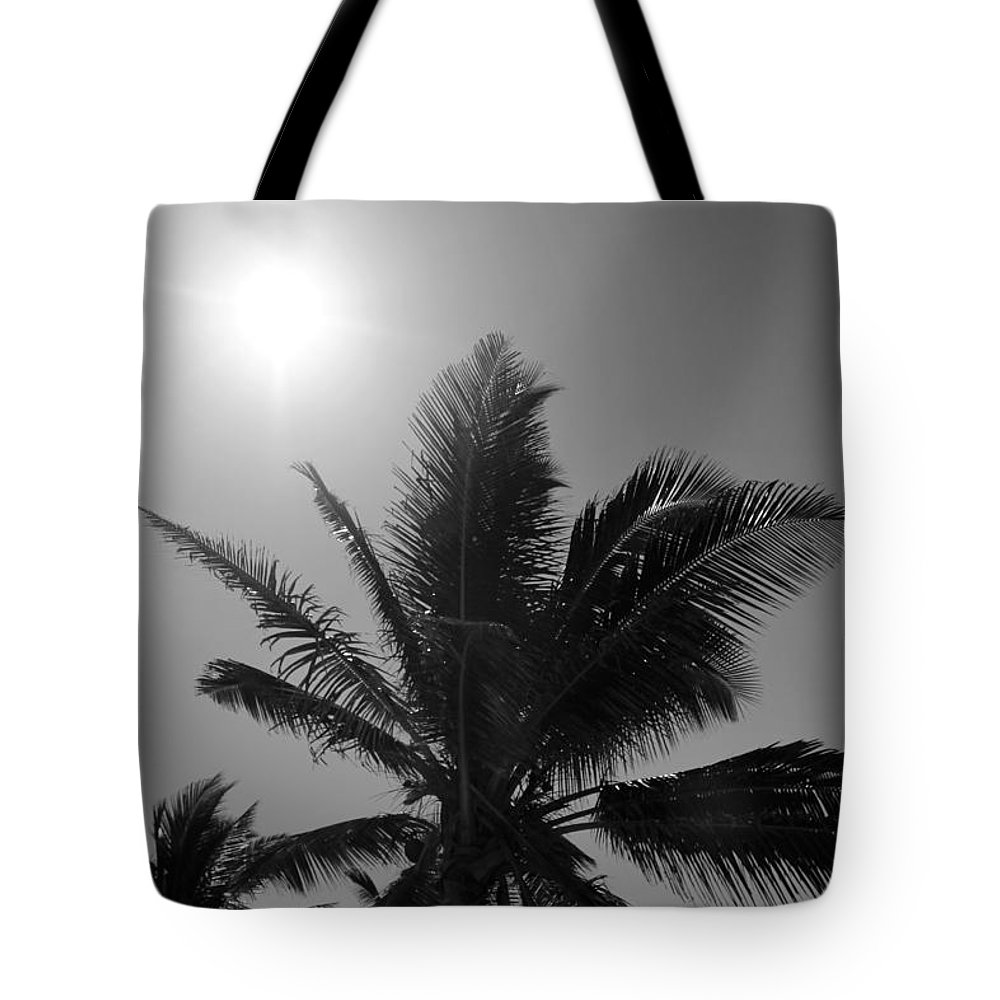Beach Tote Bag featuring the photograph Beauty And The Palms In Dominican Republic by Robert Smith