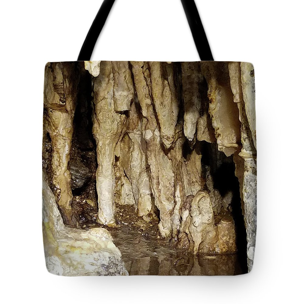 Cave Tote Bag featuring the photograph Beauty In The Cave by Dyana Rzentkowski