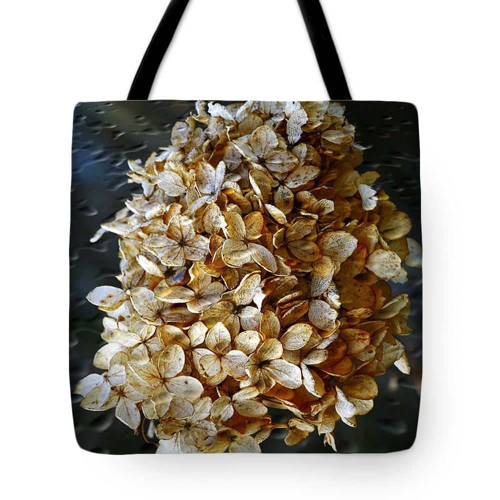 Flower Tote Bag featuring the photograph Beauty Of Old by Deborah Benoit