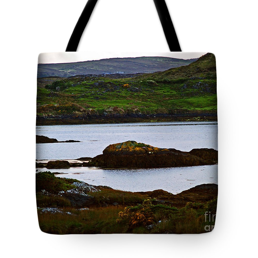 Fine Art Photography Tote Bag featuring the photograph Beauty On The Rocks by Patricia Griffin Brett