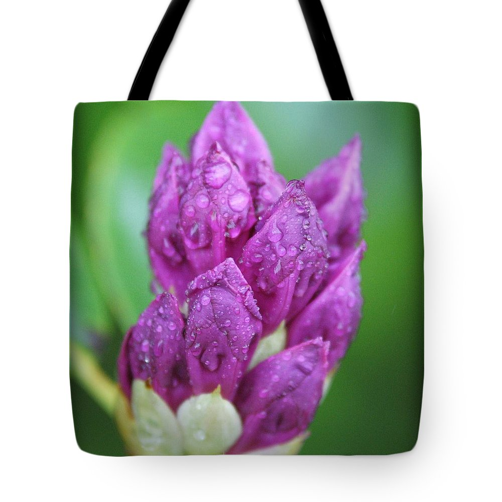 Flower Tote Bag featuring the photograph Bedazzled by Alex Grichenko