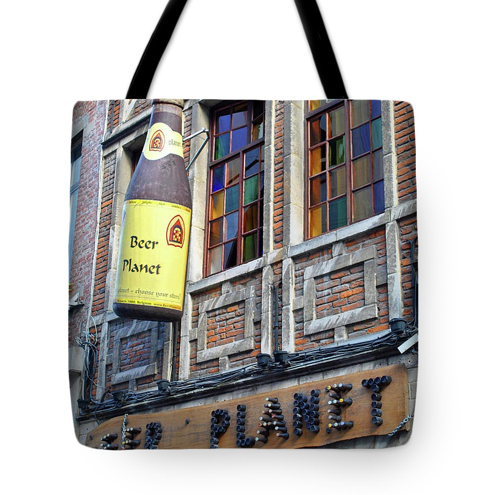Beer Tote Bag featuring the photograph Beer Planet by Jost Houk
