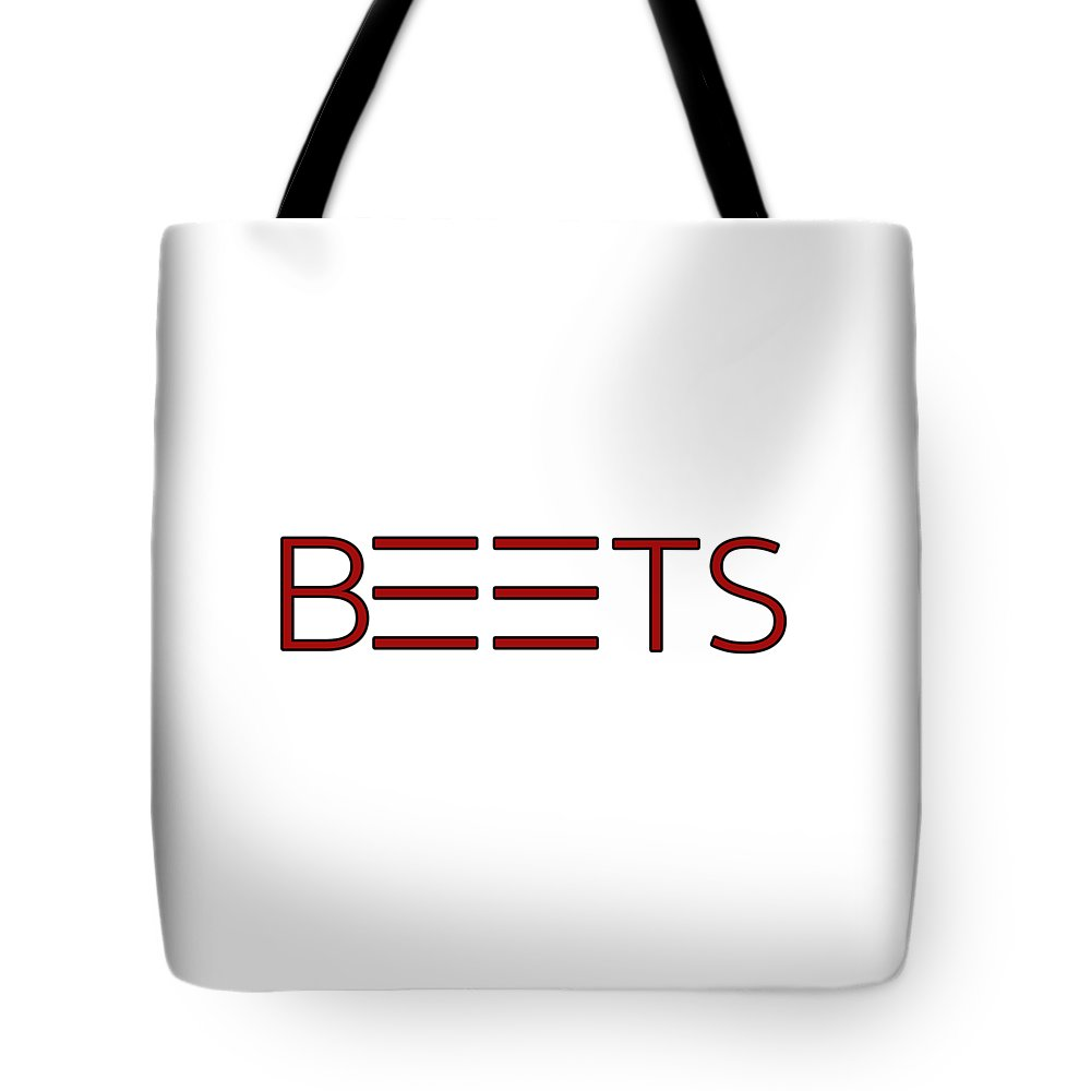 Typography Tote Bag featuring the photograph Beets by Bill Owen