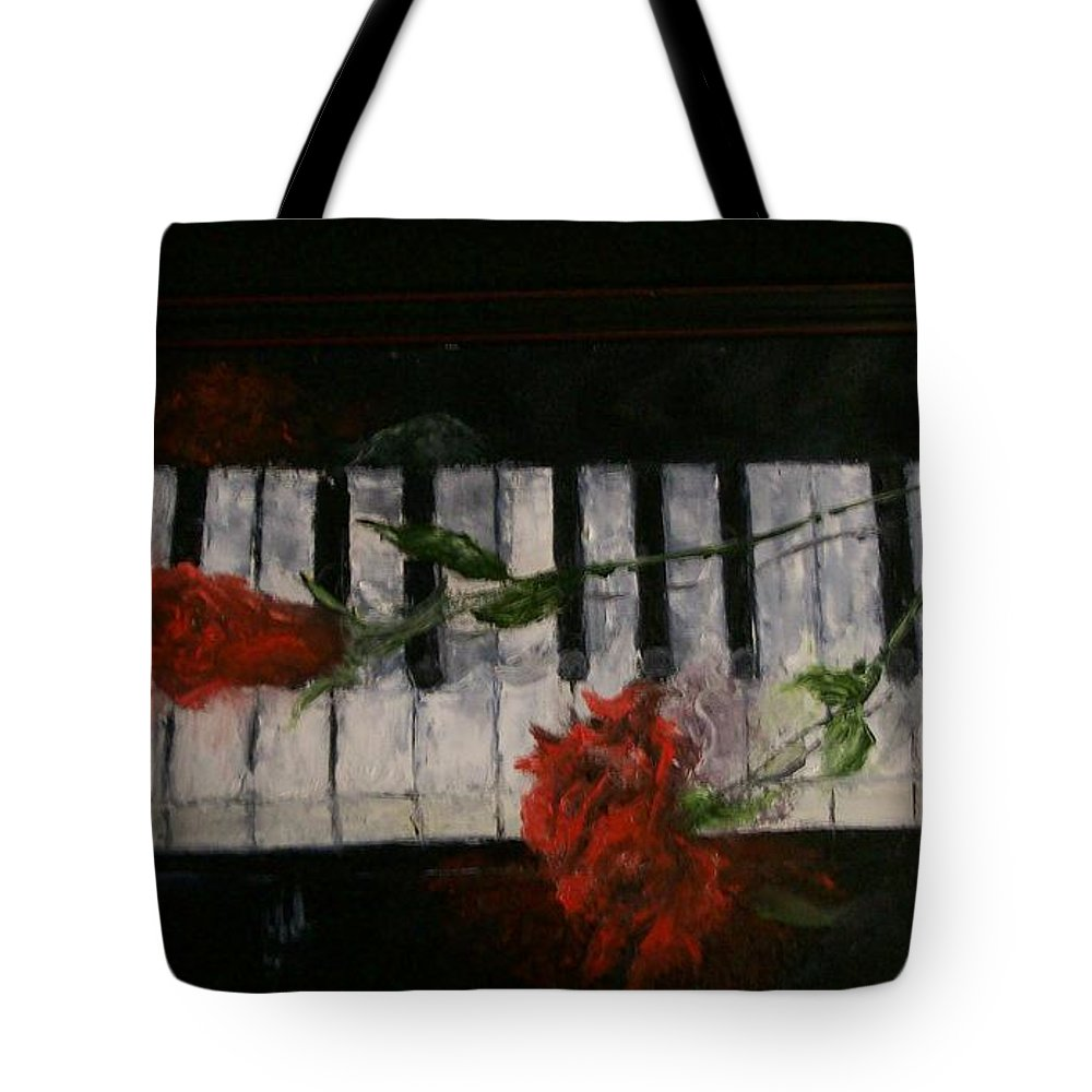Still Life Tote Bag featuring the painting Before The Concert by Stephen King