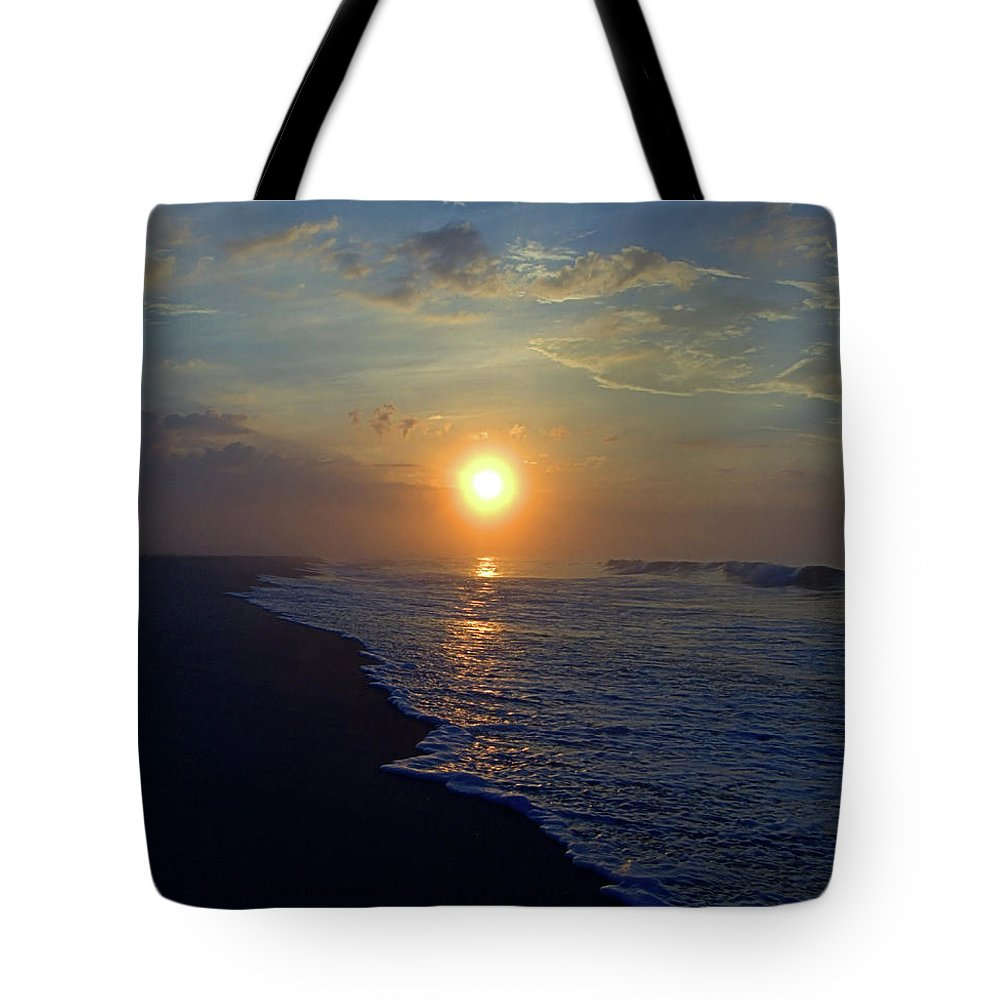 Seas Tote Bag featuring the photograph Beginnings by Newwwman