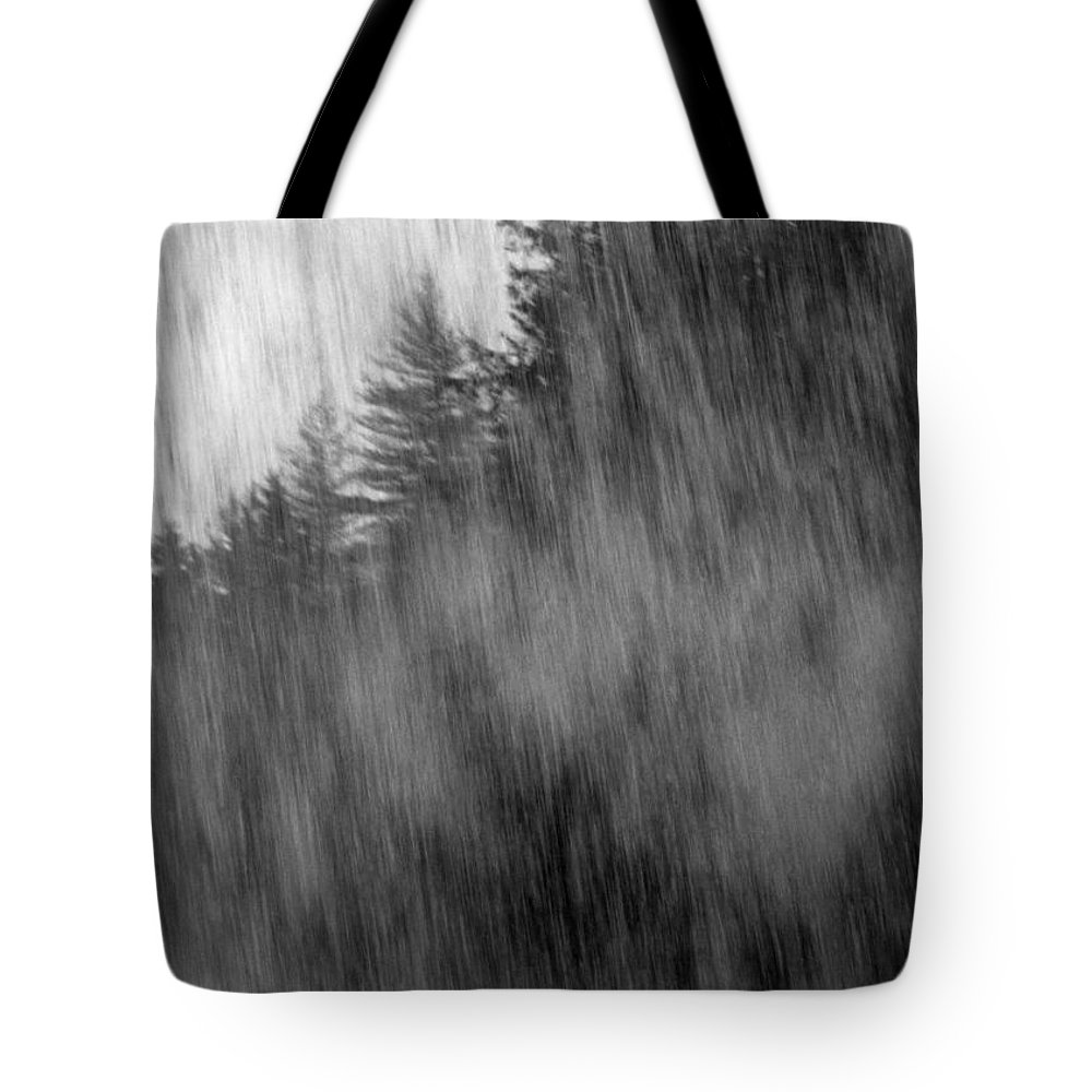 Waterfalls Tote Bag featuring the photograph Behind The Falls by Richard Rizzo