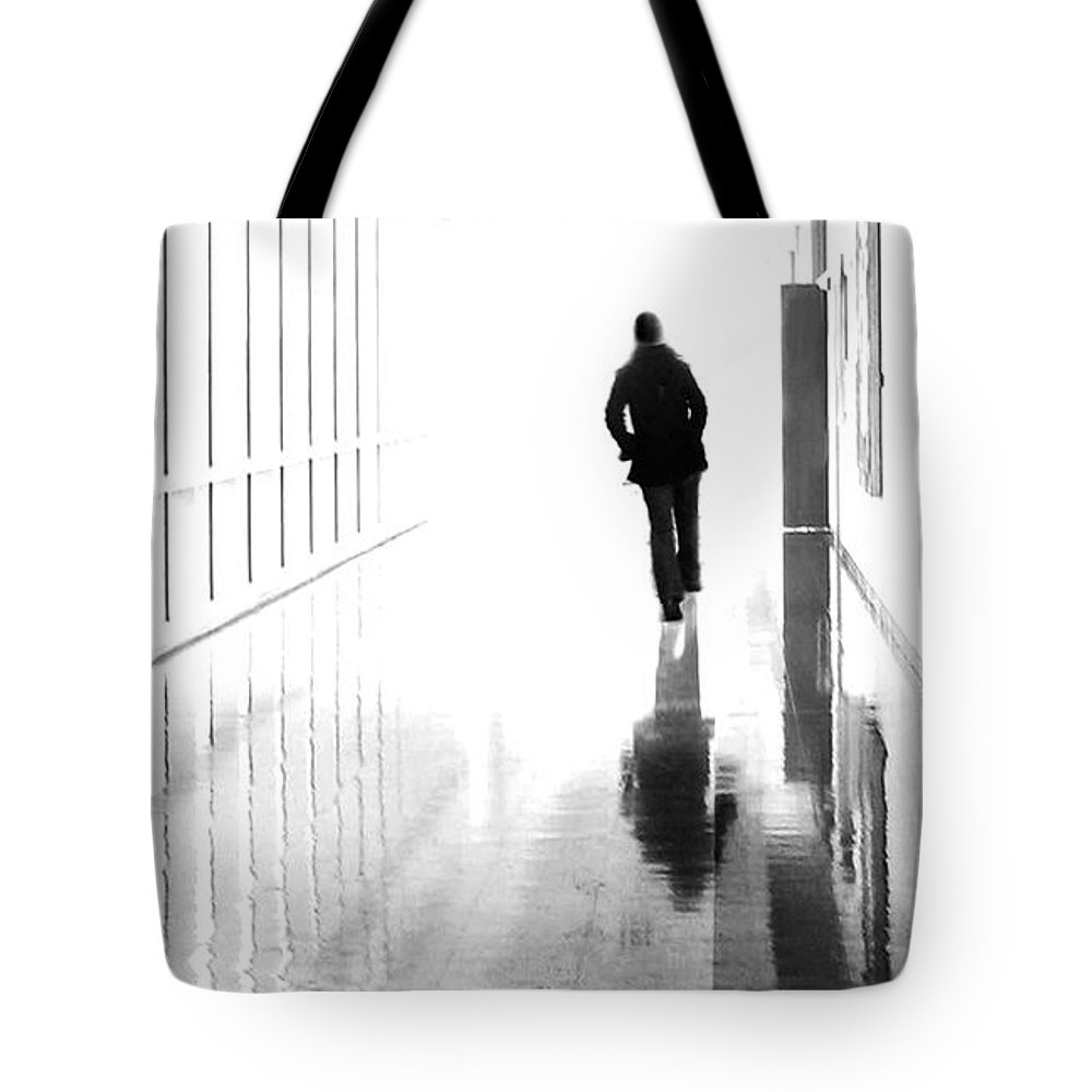Dipasquale Tote Bag featuring the photograph Being Alone Doesnt Mean Youre Free by Dana DiPasquale