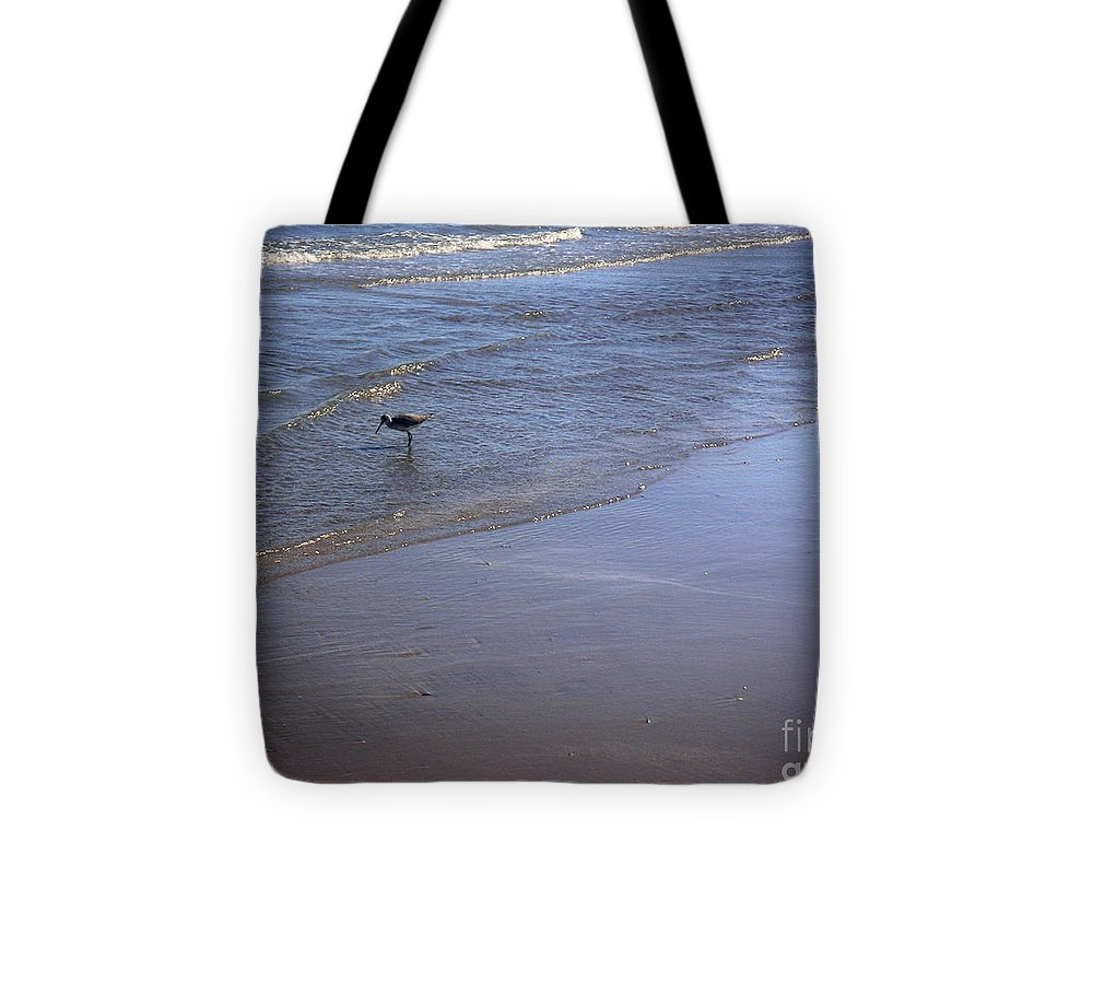 Nature Tote Bag featuring the photograph Being One With The Gulf - Spotting by Lucyna A M Green