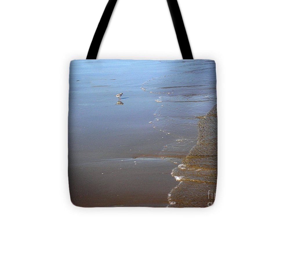 Nature Tote Bag featuring the photograph Being One With The Gulf - Still by Lucyna A M Green