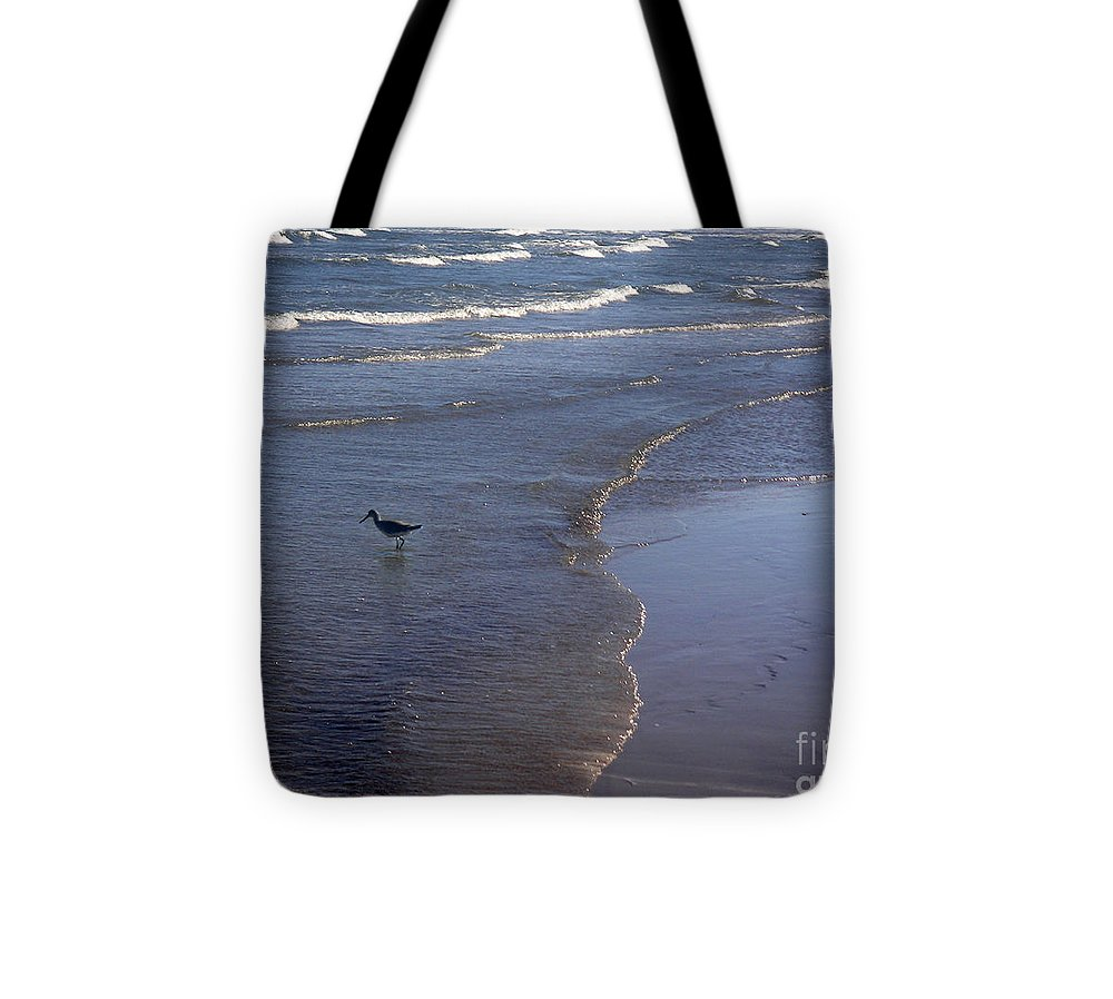 Nature Tote Bag featuring the photograph Being One With The Gulf - Vigilant by Lucyna A M Green