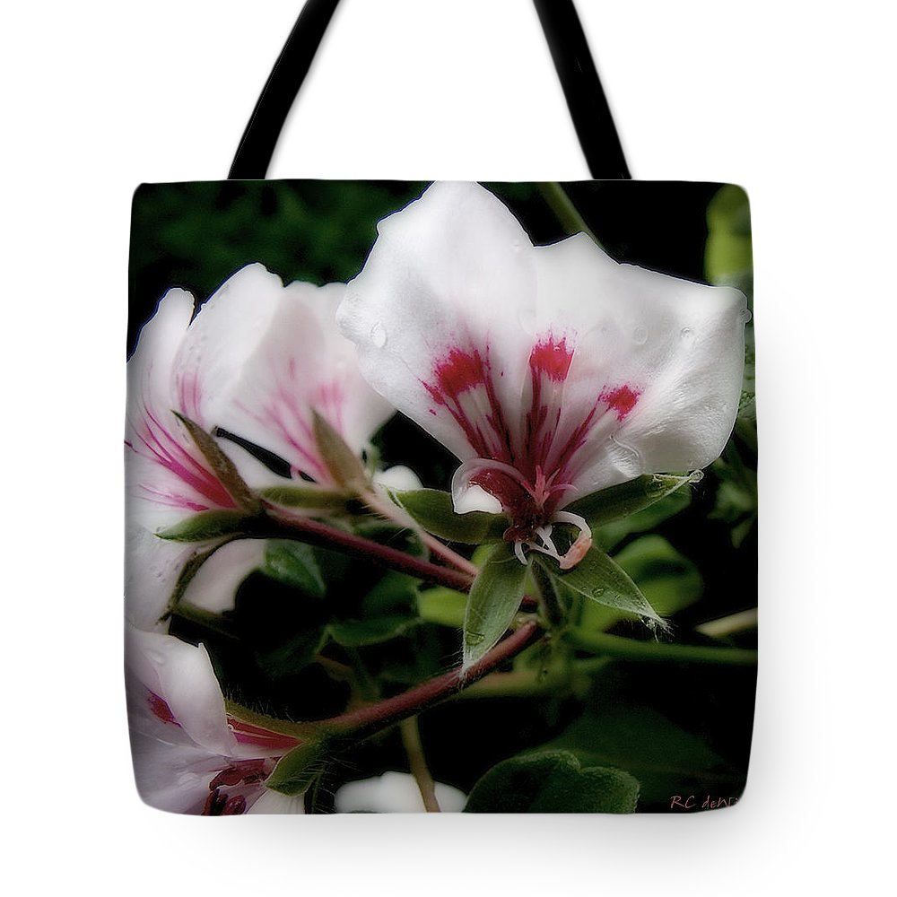 Cherry Tote Bag featuring the photograph Bejewelled by RC DeWinter